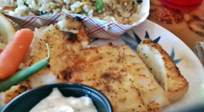 Grilled New England Cod