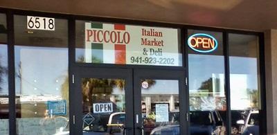 Piccolo Italian Market Deli