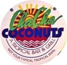 Cha Cha Coconuts sign on St Armands Circle
