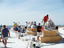 Sarasota annual sand sculpting contest