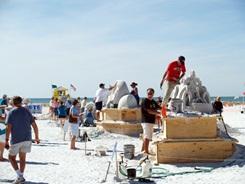 Sarasota annual sand sculpting contest