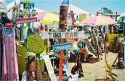 Arts and Crafts at Shark Tooth Festival Venice Florida
