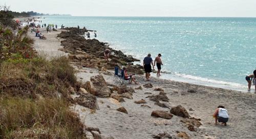 Caspersen Beach Venice Florida Looking South