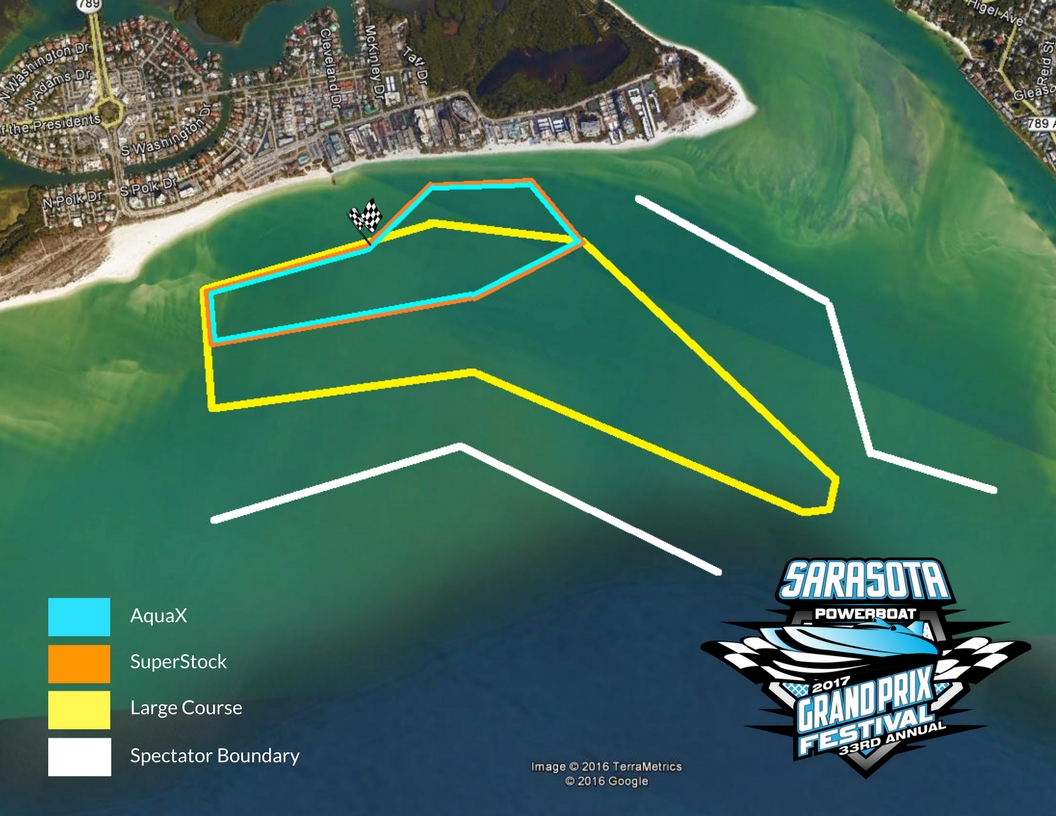 Sarasota Offshore Grand Prix Course