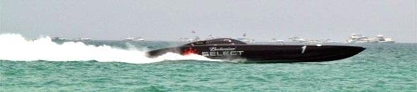 Offhore racing at Lido Beach