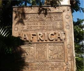 Africa sign at Disney Animal Kingdom