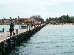 Fishing at the Anna Maria Island Florida City Pier
