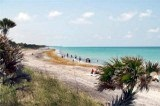 Looking South over Caspersen Beach Florida