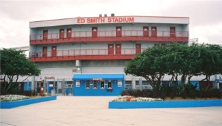 Ed Smith Stadium during Cincy Reds Spring Training
