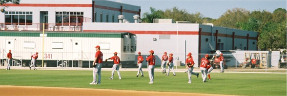 Cincinnati Reds Spring Practice Sarasota Florida