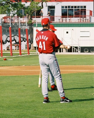 Spring training for the Cincinnati Reds in Sarasota Florida