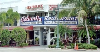 The Columbia Restaurant on St Armands Circle Sarasota Florida