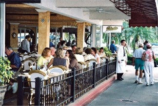 The Columbia Restaurant Patio on St Armands Circle
