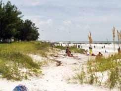Cortez Beach Florida just off Bradenton Florida