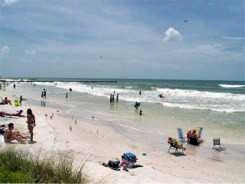 Another view of Cortez Beach on Anna Maria Island Florida