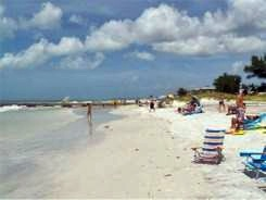 Cortez Beach on Anna Maria Island Florida