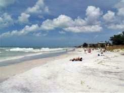 Manatee Counties Cortez Beach on south Anna Maria Island Florida