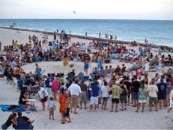 Drum Circle at Nokomis Beach