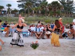 Girls Dancing at the Drum Circle at Nokomis Beach