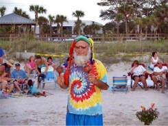 Drum Circle at Nokomis Beach Florida