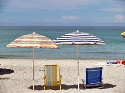 Manasota Beach Florida Beach Umbrellas