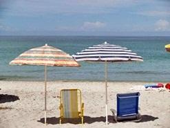 Manasota Beach Florida Beach Umbrellas