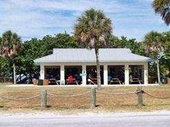 Manasota Beach Florida picnic Pavilion