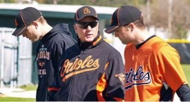 Orioles Spring Training Camp in Sarasota