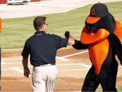 Orioles legend Jim Palmer at Ed Smith Stadium Sarasota Florida
