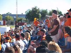 Orioles fan forum at 2009 fan fest at Sarasota Florida