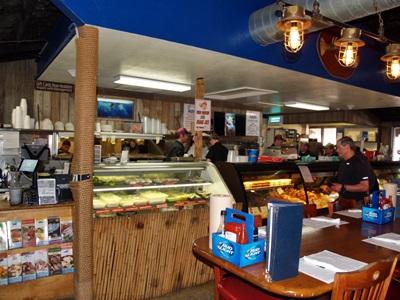 Fresh fish market at Walts