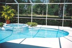 Sarasota Real Estate backyard Lanai
