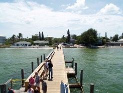 Fishing at Rod and Reel Pier Anna Maria Florida