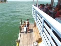 fishing at the rod-and-reel-pier-restaurant