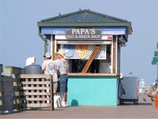 Venice fishing pier bait shop