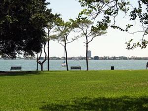 Bayside in sarasota's Bayfront Park