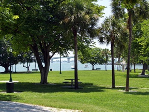 A look at the beautiful Bayfront Park in Sarasota