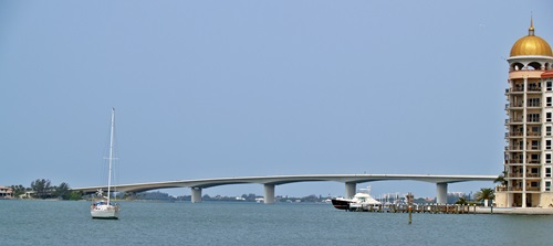 The Ringling Bridge and Golden Point Sarasota