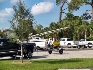 Blackburn Point Park Boat Trailer parking