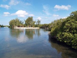 Blackburn Point Park in Osprey Florida