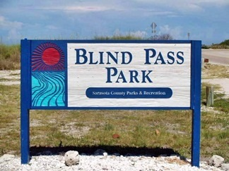 Blind Pass Beach Park Sign