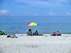 Blind Pass Beach Florida Beach Umbrella