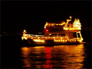 The Annual Sarasota Christmas Boat Parade of Lights