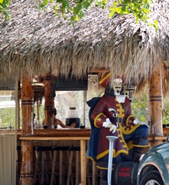 Tiki Bar at the Casey Key Fish House