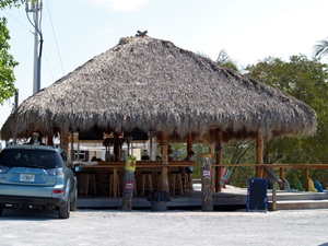 The Tiki Bar at the Casey Key Fish House in Sarasota