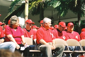 Cincinnati Reds Rally in Sarasota Florida