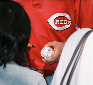 Cincinnati Reds Rally Autograph session
