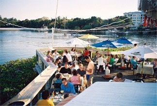 The Deck at Boatyard Restaurant Sarasota Florida