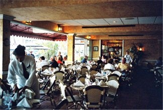 Dining room at the Columbia Restaurant Sarasota Florida