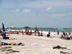 On the shore at Coquina Beach Anna Maria Island